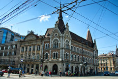 Cluj Napoca town hall Royalty Free Stock Photography