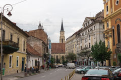 Cluj-Napoca, town in Transylvania region of Romania Royalty Free Stock Image