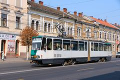Cluj-Napoca transportation Stock Images