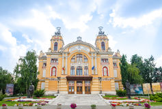 Cluj Napoca Transylvania National Theatre Royalty Free Stock Photography