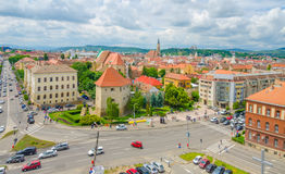 Cluj-Napoca view Royalty Free Stock Image