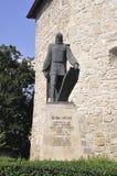cluj RO, Wrzesień 23th: Baby Novac statua od cluj od Transylvania w Rumunia Zdjęcia Stock