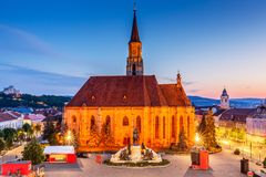 Cluj, Roemenië royalty-vrije stock afbeelding