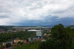 Cluj, Roemenië Hoogste mening Stock Afbeeldingen