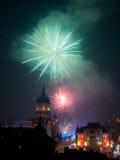 Cluj som skriver in 2013 Fotografering för Bildbyråer