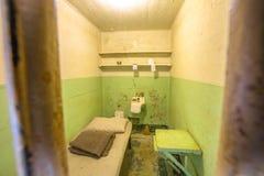 Célula del ordinario de Alcatraz Fotografía de archivo