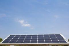 Células solares Foto de Stock Royalty Free