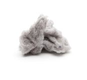 A clump of common house dust. Stock Photo