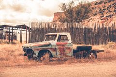 Clunker Pickup Truck Royalty Free Stock Photography