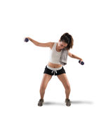 Clunky workout Royalty Free Stock Photos