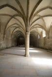 cluny修道院的储水池 免版税库存图片