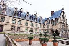Cluny博物馆在巴黎 图库摄影