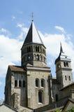 cluny的修道院 免版税库存图片