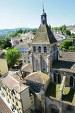 cluny的修道院 免版税图库摄影