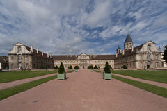 Cluny abbey. A complete view of the complex of cluny abbey Stock Photography