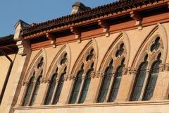 Cluny Abbey Romanesque Architecture Stockfotos