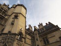 Cluny museum eller nationellt museum av medeltiden arkivbilder