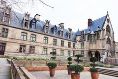 Cluny Museum i Paris Arkivbild