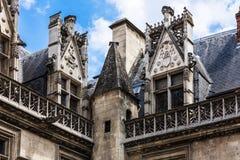 Cluny muzealny Musee De Cluny Paris france obraz stock