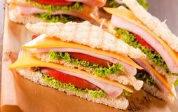Clup-Sandwich Lizenzfreies Stockfoto