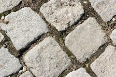 Cluseup de pavimentação de pedra Fotos de Stock