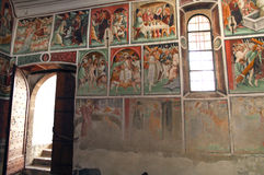 Clusone, kerk Stock Afbeelding