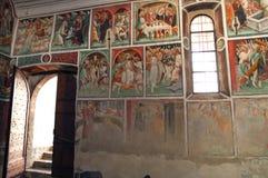 Clusone, Kirche Stockbild