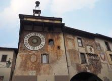 Clusone - orologio planetario Costruito nel 1583 Fotografie Stock