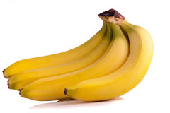 Cluster of bananas Stock Photos