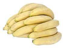 Bananas isolated on white background royalty free stock photo