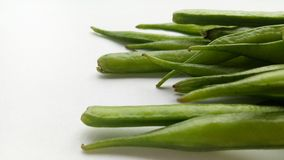 Cluster Beans. Vegetable natural and healthy food Royalty Free Stock Images