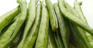 Cluster Beans. Vegetable natural and healthy food Royalty Free Stock Photos