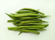 Cluster Beans. Vegetable natural and healthy food Stock Photography