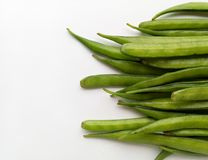 Cluster Beans. Vegetable natural and healthy food Stock Image