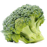 Cluster of Broccoli Isolated on White Background Royalty Free Stock Photos