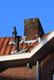 Cluster of chimneys Stock Images