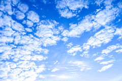 Cluster of clouds. Another cluster of clouds. Wave of clouds Royalty Free Stock Photography