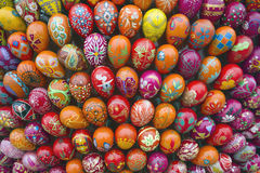 Cluster of easter eggs Royalty Free Stock Photos