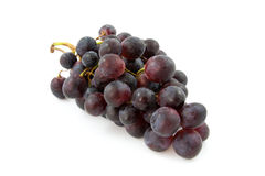 Cluster of fresh blue grapes Stock Photo