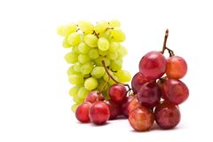 Cluster of fresh grape Stock Images