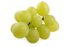 Cluster of grapes. With water droplets Royalty Free Stock Photos