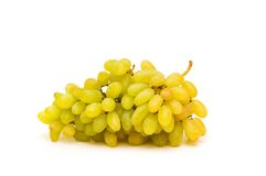Cluster of grapes isolated Stock Photos