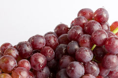 Cluster of grapes, washed Stock Photos