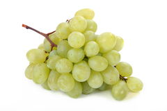 Cluster of green grape Royalty Free Stock Images
