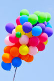 Cluster of party balloons Royalty Free Stock Image