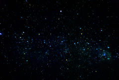 Cluster of stars at night Royalty Free Stock Photography