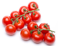 Cluster tomatoes Stock Image