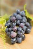 Cluster van druiven Stock Afbeeldingen
