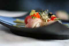 Cluster van Sushi Royalty-vrije Stock Afbeeldingen