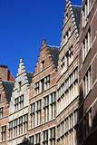 Clustered Belgian houses Royalty Free Stock Photography